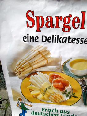 Spargelposter
